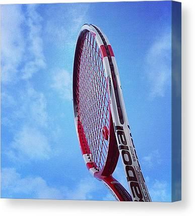 Tennis Racquet Canvas Prints