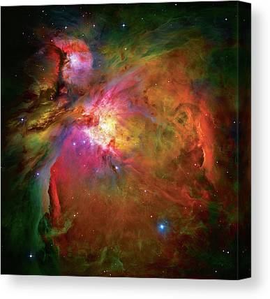 Outer Space Canvas Prints