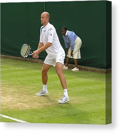 Tennis Players Canvas Prints