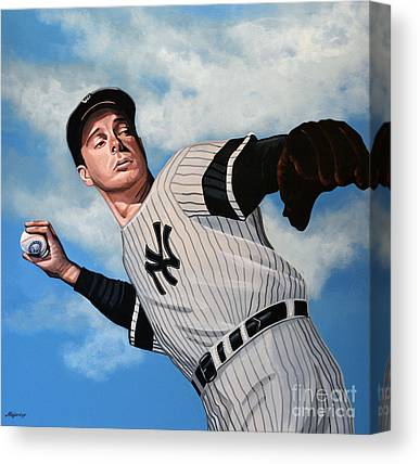 Joe Dimaggio Canvas Prints