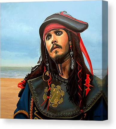 Pirates Of The Caribbean Canvas Prints