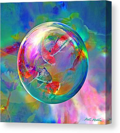Fish. Spherical Canvas Prints