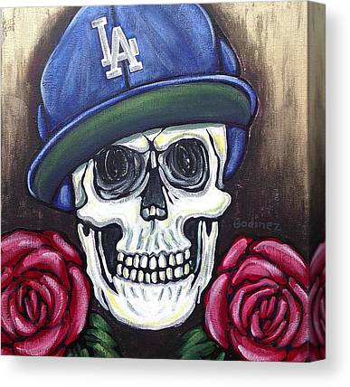 Los Angeles Dodgers Canvas Prints