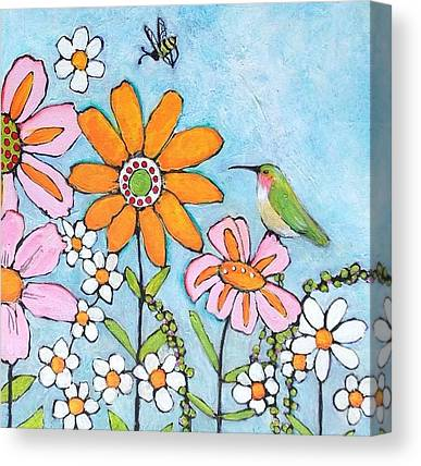 Hummingbirds Canvas Prints