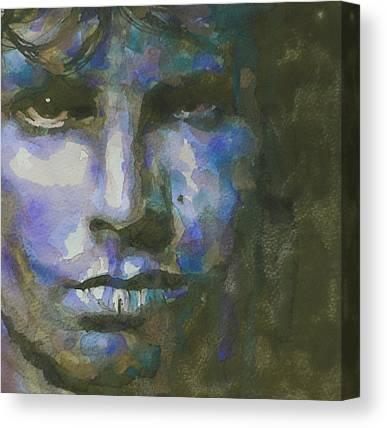 Jim Morrison . Legend Canvas Prints