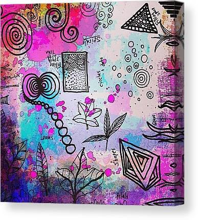 Shapes Canvas Prints