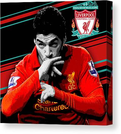 Luis Suarez Canvas Prints