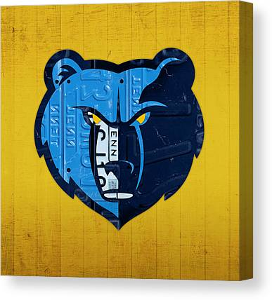 Memphis Grizzlies Canvas Prints
