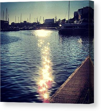 Marinas Canvas Prints