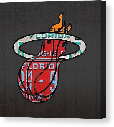 Basketball Team Canvas Prints