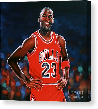 All Star Game Paintings Canvas Prints