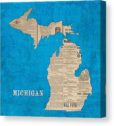 Michigan Canvas Prints