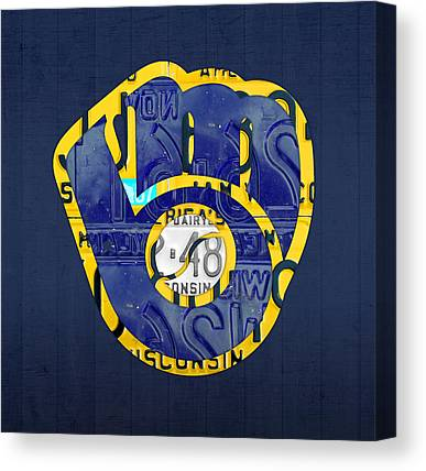Milwaukee Brewers Canvas Prints