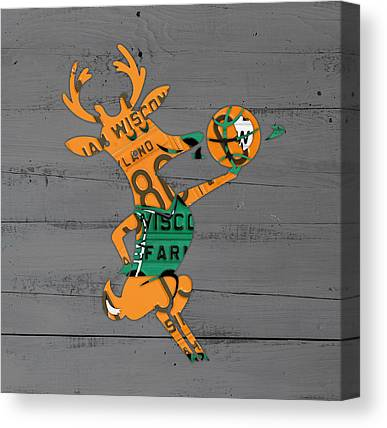 Milwaukee Bucks Canvas Prints