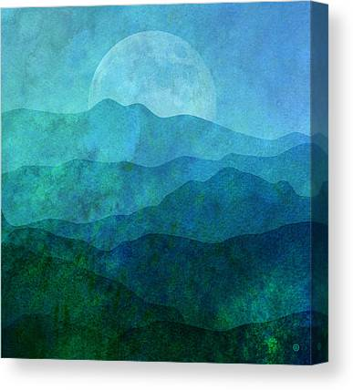 Moonlight Canvas Prints