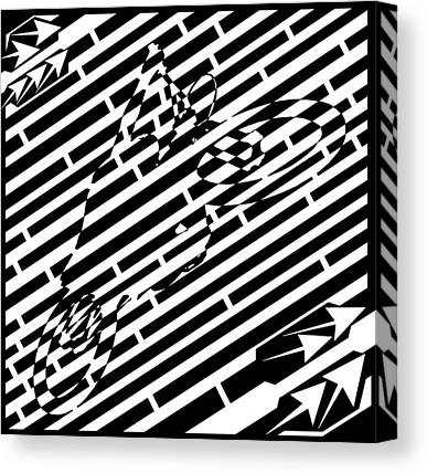 Jump Maze Canvas Prints