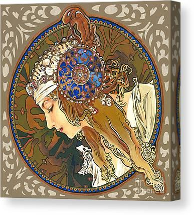 Byzantin Canvas Prints