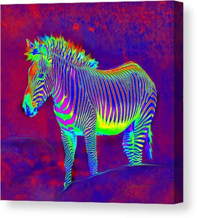 Horse Of A Different Color Canvas Prints