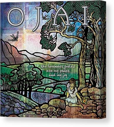 Ojai Canvas Prints