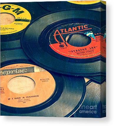 1950s Music Canvas Prints