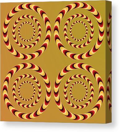 Illusional Canvas Prints