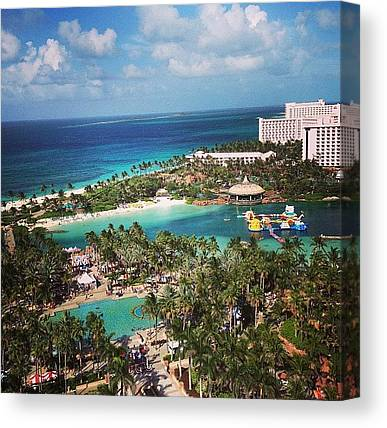 Bahamas Canvas Prints