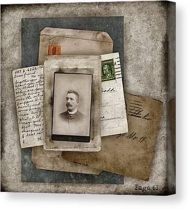 Postcard Canvas Prints
