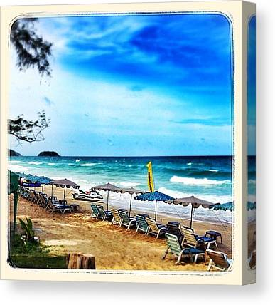 Jet Skis Canvas Prints