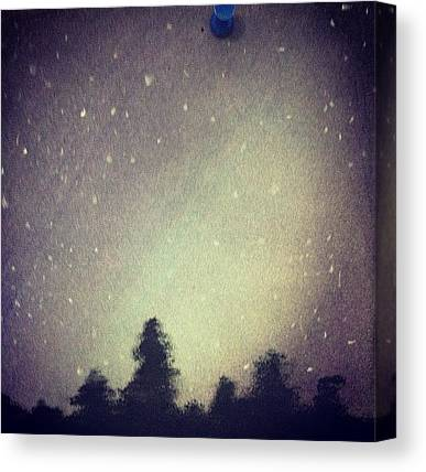 Shooting Stars Canvas Prints
