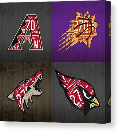 Phoenix Coyotes Canvas Prints