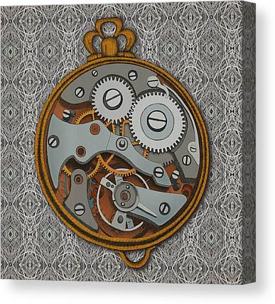 Clock Canvas Prints