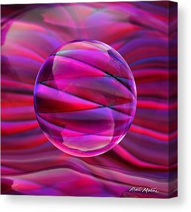 Luminous Globe Canvas Prints