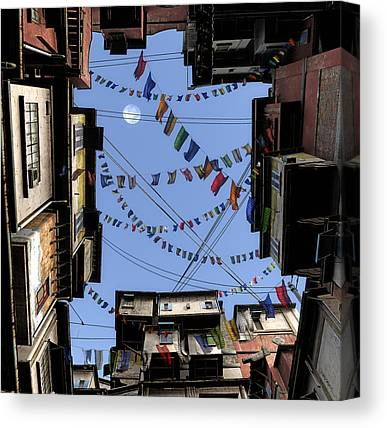 Tibetan Digital Art Canvas Prints