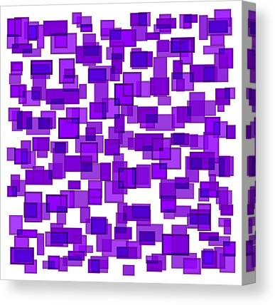 Hues Of Purple Canvas Prints