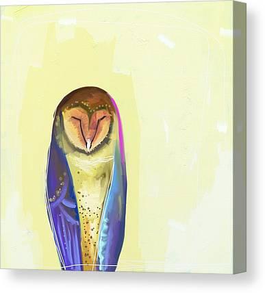 Owls Canvas Prints