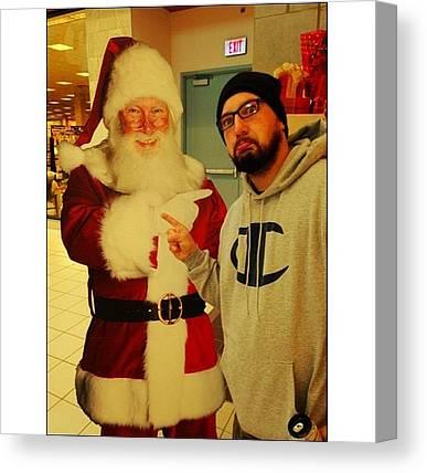 Santa Clause Canvas Prints