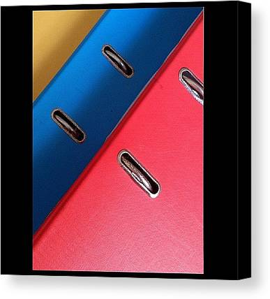 Binders Canvas Prints