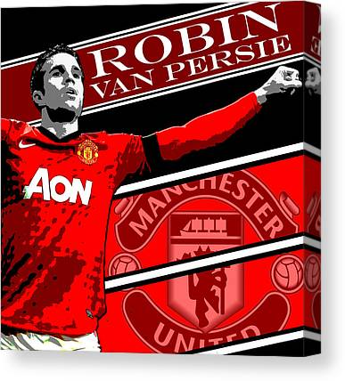 Manchester United Canvas Prints