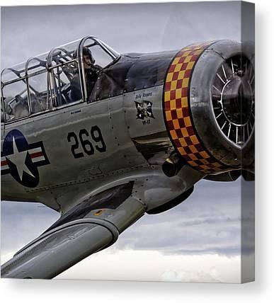 Fighter Pilot Canvas Prints