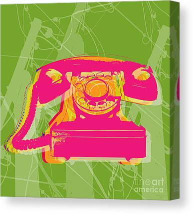 Cell Phone Canvas Prints