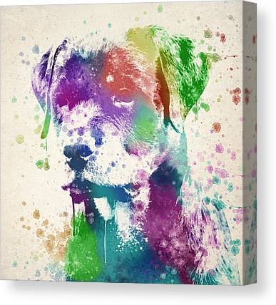 Rottweiler Canvas Prints