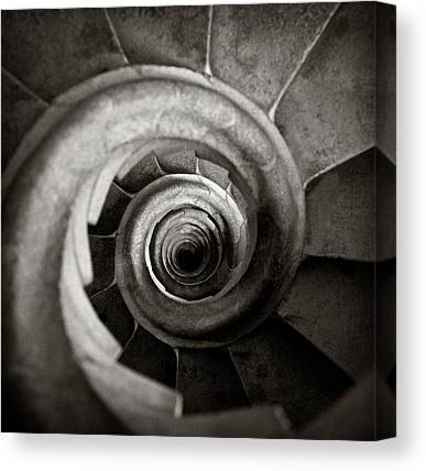 Spiral Canvas Prints