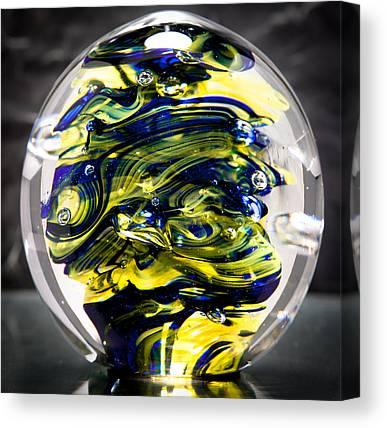 Seahawks Glass Canvas Prints