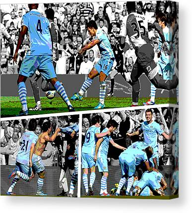 Soccer Leagues Canvas Prints