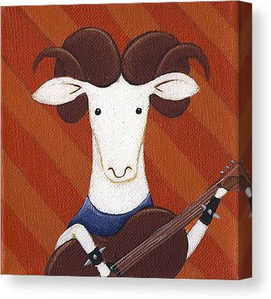 Sheep Rock Canvas Prints