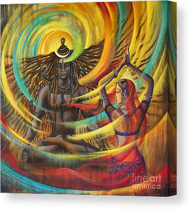 Goddess Durga Canvas Prints