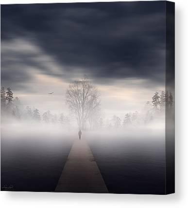 Pathways Digital Art Canvas Prints