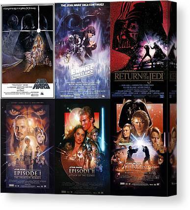 Star Wars Episode 3 Canvas Prints