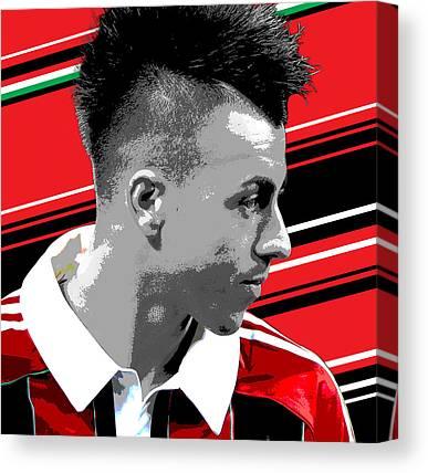 Inter Milan Canvas Prints