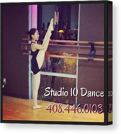 Tap Dance Canvas Prints